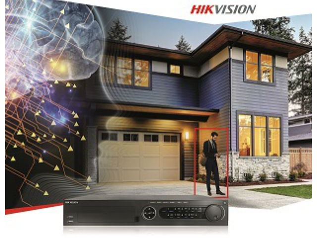 Hikvision: Turbo HD 5.0 Acusense, DVR Human and Vehicle Detection