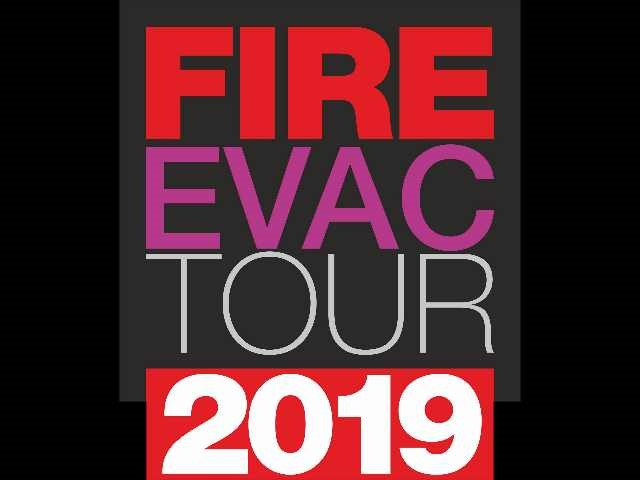 Fire Evac Tour 2019 al via