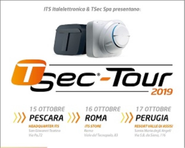 Tsec Tour negli store  ITS Italelettronica