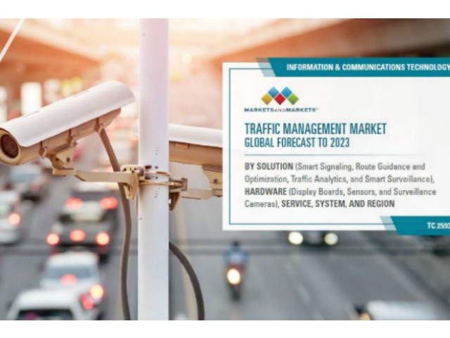 Traffic Management Market: previsioni di raddoppio al 2023