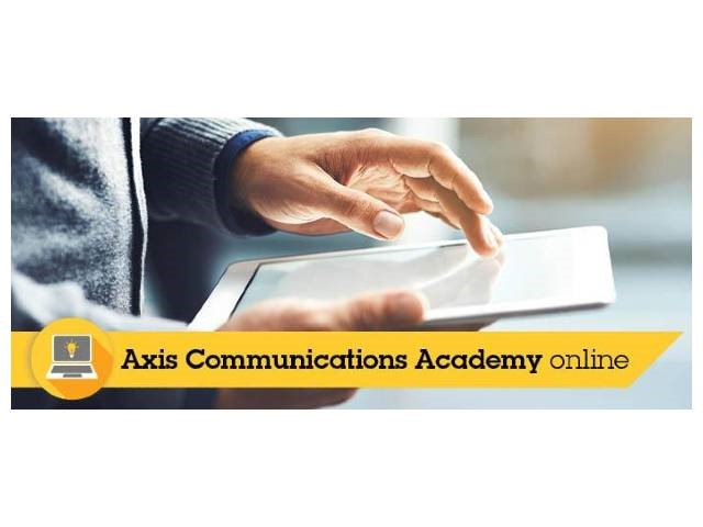 Axis Communications' Academy: in aprile nuovi corsi tecnici online