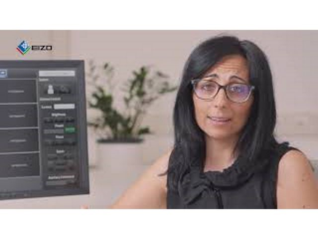 EIZO a secsolutionforum web format: videointervista a Roberta Scalisi, Product Marketing Manager, e Luca Zaffanella, Sales Specialist