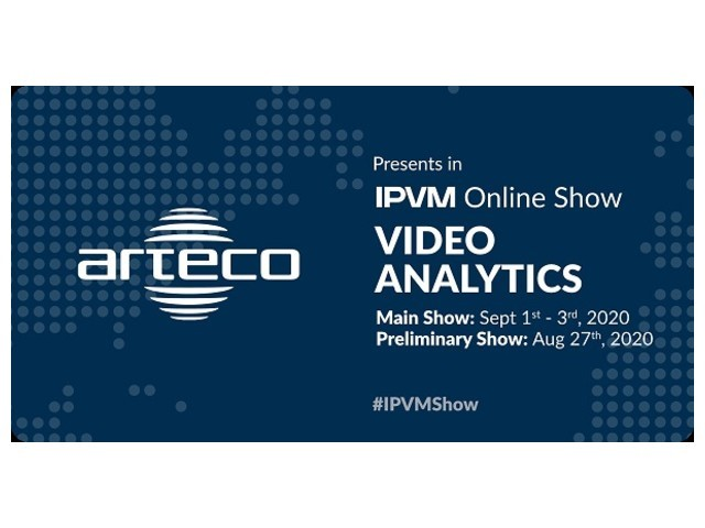 Arteco presenta il server di analisi video all'IPVM Online Show