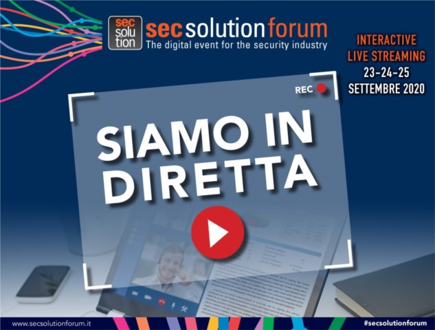 secsolutionforum web format: oggi meeting on line con le aziende. Prendi appuntamento