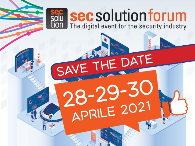 secsolutionforum digital edition 2021: save the date