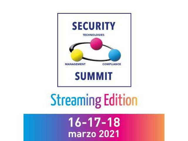 Security Summit, in marzo una streaming edition