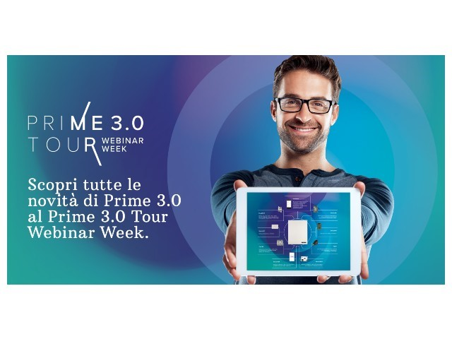 Inim Electronics: prosegue il Prime 3.0 Tour Webinar Week