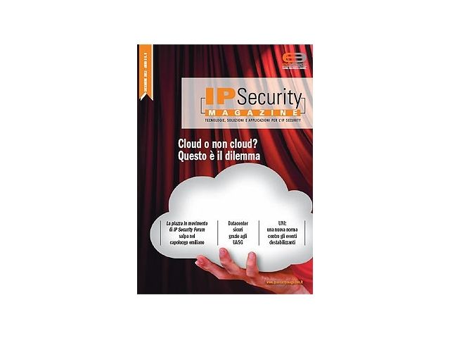 IP Security Magazine n.9 Dicembre 2013. Cloud o non cloud? Questo è il dilemma