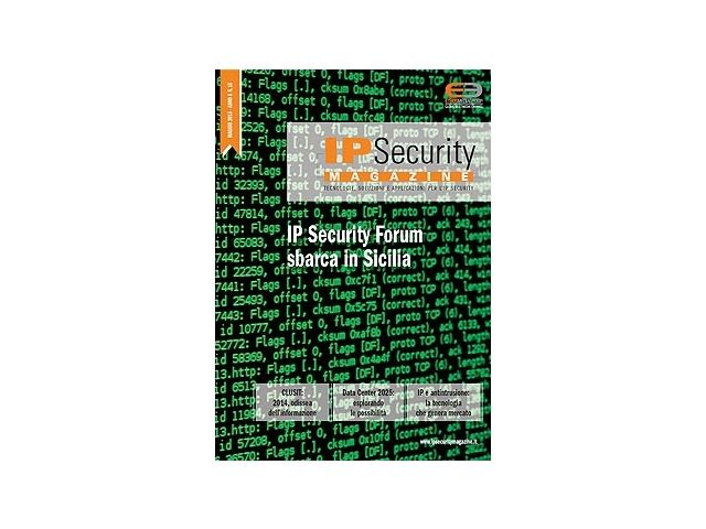IP Security Magazine n.16 Mag 2015. IP Security Forum sbarca in Sicilia