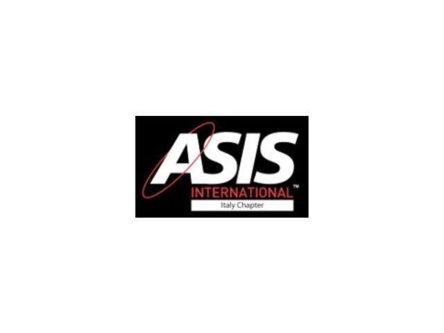 ASIS International Chapter Italy a SICUREZZA