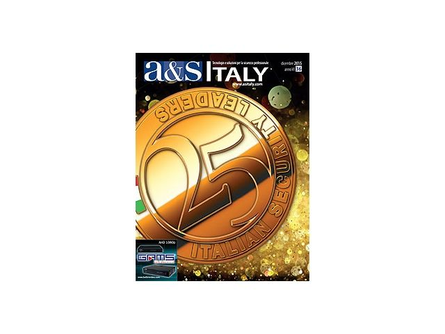 a&s Italy n.36 Dic 2015, 25 Italian Security Leaders