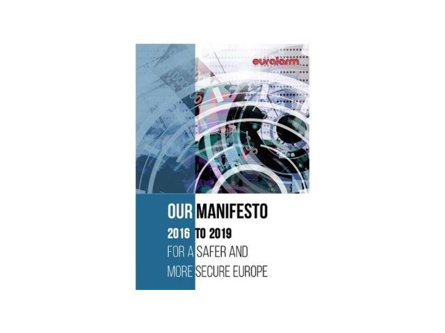 "Euralarm presenta il ""Manifesto for a Safer and More Secure Europe"""
