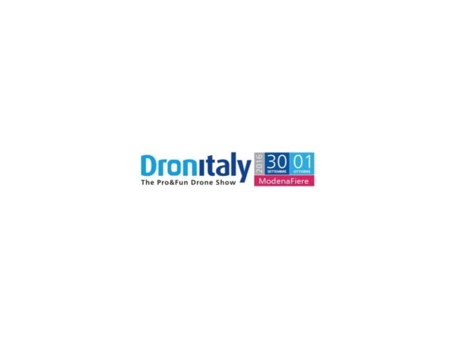 Al via Dronitaly The Pro&Fun Drone Show