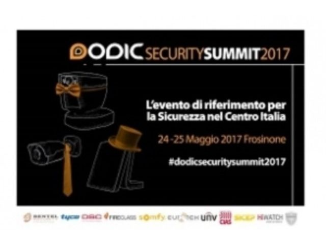 Al via il Dodic Security Summit 2017
