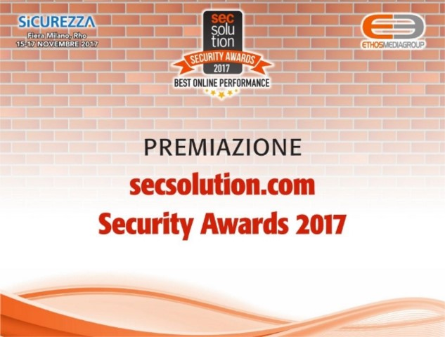 Secsolution Security Awards: chi si fida, vince!