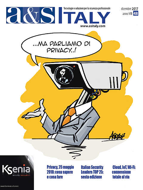 a&s Italy n.48 Dic 2017... Ma parliamo di Privacy!