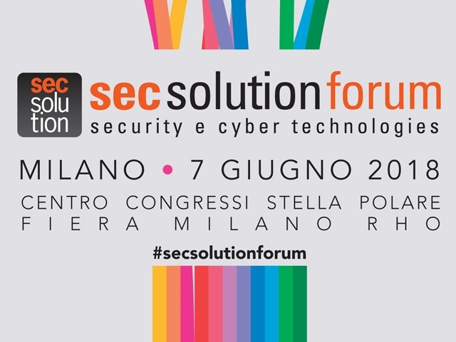 Importanti patrocini per Secsolutionforum